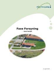 Læs mere om os i Faxe Forsyning - Kort fortalt.