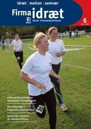 Fokus på den kvindelige idrætsleder i firmaidrætten Flot firma-fight i ...