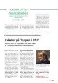 Fokus på den kvindelige idrætsleder i firmaidrætten Flot firma-fight i ... - Page 7