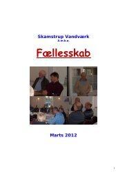 Årsskrift 2012 - Foreningen Skamstrup og Omegn