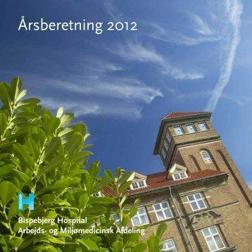 Årsberetning 2012 - Bispebjerg Hospital