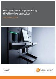 Automatiseret opbevaring til effektive apoteker - rowa-nordic.dk
