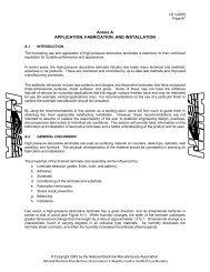 LD 3-2005, High-Pressure Decorative Laminates, Annex A - NEMA