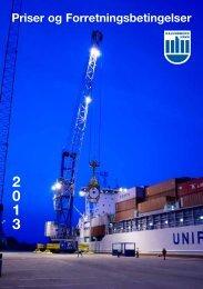 Priser og Forretningsbetingelser - Kalundborg Havn