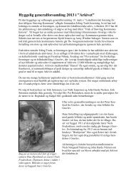 """Hyggelig generalforsamling 2013 i """"Arkivet"""" - Lokalhistorisk Arkiv"""