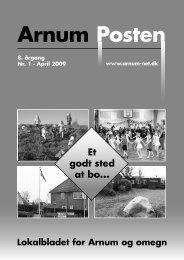 ArnumPosten 2009 - Arnum Net