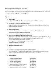 Klik her og læs referatet fra generalforsamlingen 2013