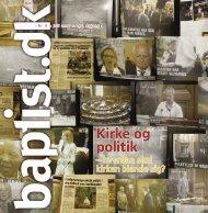 Nr. 8 - 2007 - Baptistkirken i Danmark