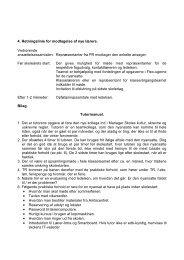 4. Retningslinie for modtagelse af nye lærere ... - Mariager Skole