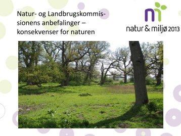 NATUR & MILJØ 2013