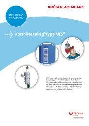 Korrolyseanlæg®type MES® - Krüger A/S