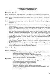1 Vedtægter for den selvejende institution Vestbirk Musik- og ...
