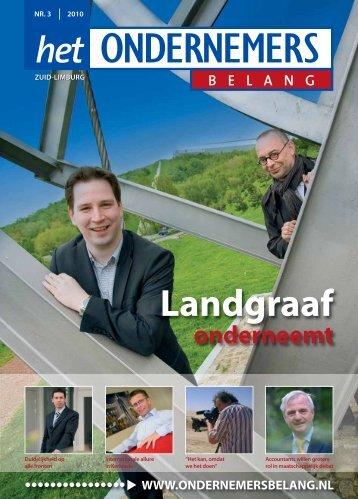 Het Ondernemersbelang Zuid-Limburg nummer 3-2010