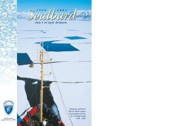 Svalbard inn i nytt årtusen - Sysselmannen