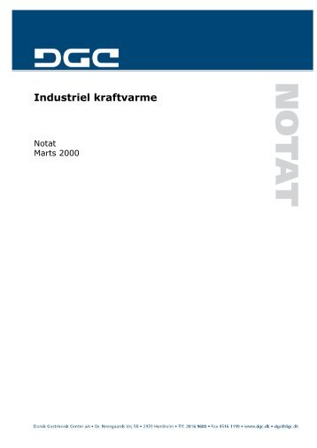 Industriel kraftvarme