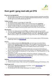 edb på OTG - Dokumenter - Syddansk Erhvervsskole
