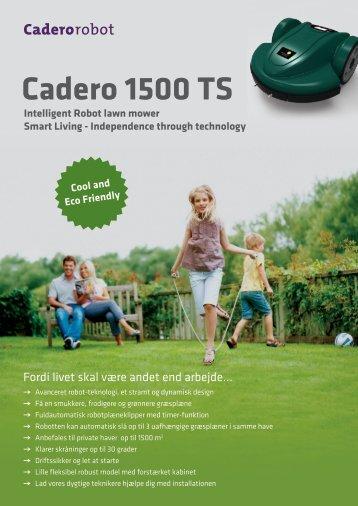 Cadero 1500 TS - Indream