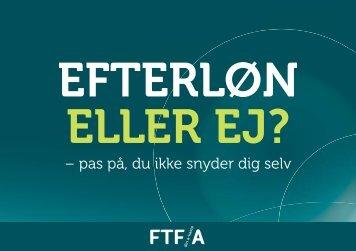 Efterløn eller ej? – pas på, du ikke snyder dig selv - FTF-A