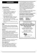 Brugsanvisning - Service - Black & Decker - Page 5