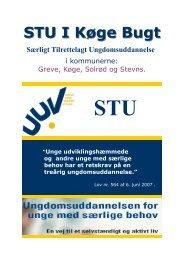 STU I Køge Bugt Særligt Tilrettelagt ... - UUV Køge Bugt