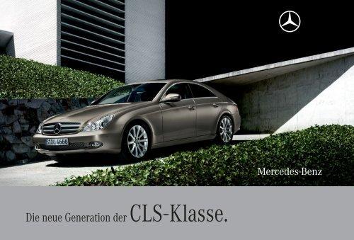 die neue generation der cls - klasse. - mercedes-benz luxembourg