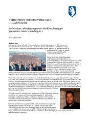 Nyhedsbrev 4 marts 2009