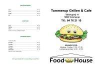 Tommerup Grillen & Cafe - Food House