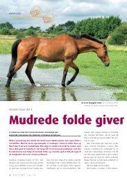 Mudrede folde giver - Hestemagasinet.dk