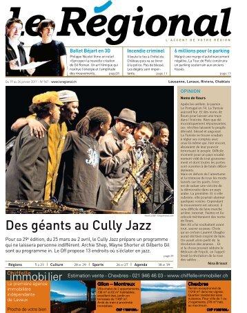 Des géants au Cully Jazz