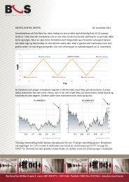 Torsdag ettermiddag holdt Spania statsauksjon ... - Bos Securities AS