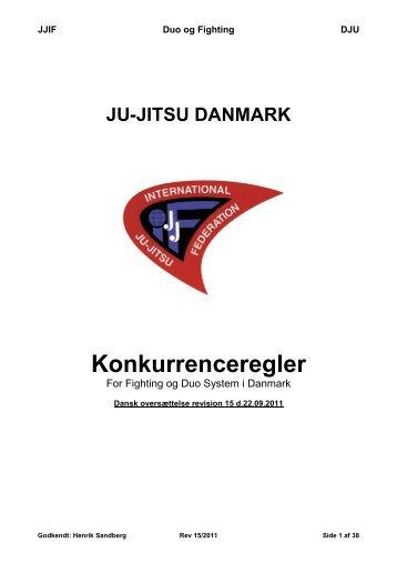 JJIF Regler, DK. 22-09-2011 - Greve Ju-Jutsu