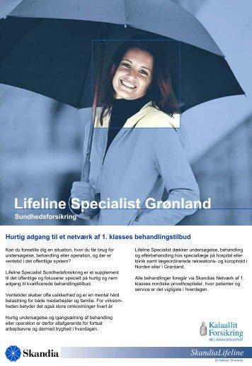 Lifeline Grønland - Kalaallit Forsikring