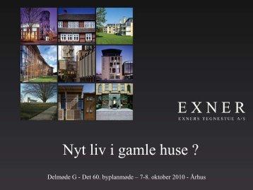 Arkitekt m.a.a. Jesper Back, Exners Tegnestue A/S