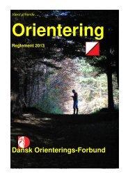 Reglement 2013 - Dansk Orienterings-Forbund