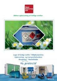 Sikker opbevaring af farlige stoffer - Hans Schourup A/S