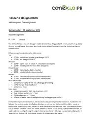 Referat beboermøde 2, d. 18 september 2012. - Grønnegaarden ...