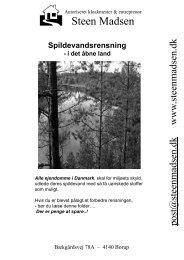 Spildevand i åbent land Se vores brochure her! - Steen Madsen