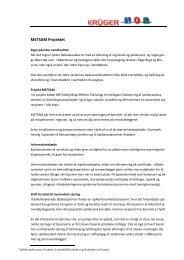 Kort beskrivelse af Metsam - Udviklingssamarbejdet
