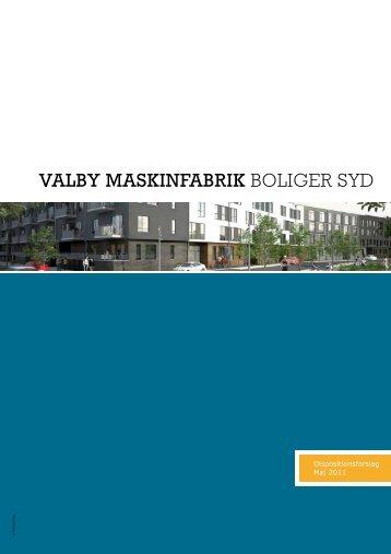 VALBY MASKINFABRIK BOLIGER SYD - DFE