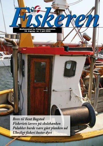 Brev til Bent Bøgsted Fiskeriets lærere på skolebænken Polakker ...