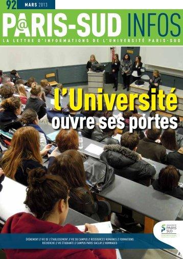 mars 2013 - Université Paris-Sud 11