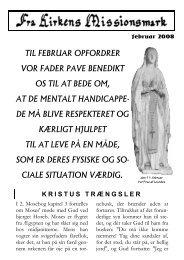 til februar opfordrer vor fader pave benedikt os til at bede om, at de ...