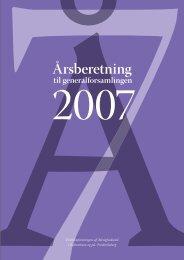 Årsberetning 2007 og regnskab 2006 (PDF 784K)