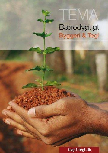 TEMA hæfte: Bæredygtigt Byggeri & Tegl - Wienerberger