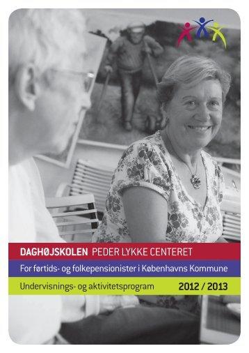 program - Daghøjskolen Peder Lykke Centret