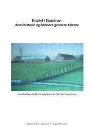 En gård i Stagstrup - dens historie og beboere ... - Thisted Museum