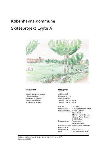 Københavns Kommune Skitseprojekt Lygte Å