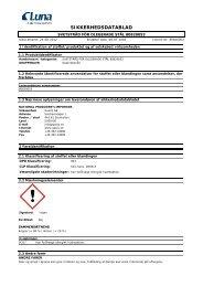 Säkerhetsdatablad 8082-0053 - Hobby og Industri