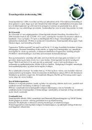 Årsberetning 2006 fra Ernæringsrådet - paarisa