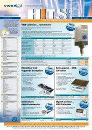 VWR Collection ... røremotorer Kalibrerbart digitaltermometer Digitalt ...